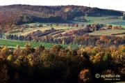 Abwechslungsreiche Wald- und Kulturlandschaft