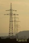 Stromtrasse zwischen Nette und Bönnien